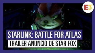 Starlink Battle for Atlas - Tráiler anuncio de Star Fox E3 2018