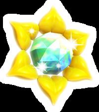 Kirby Triple Deluxe Piedra Solar