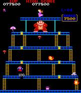 Donkey Kong - Fase 4