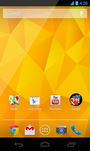 Android 4.2 on the Nexus 4