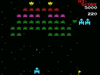 Galaxian MSX version