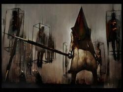 Silent Hill 2-Piramyd head