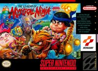 The Legend of the Mystical Ninja - portada
