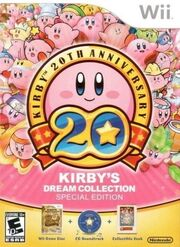 Kirby's Dream Collection portada USA
