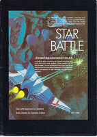 Star Battle VIC-20 portada
