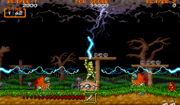 Ghouls 'n Ghosts - Magia lanza