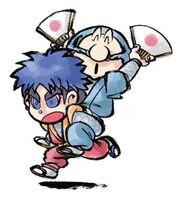 Ebisumaru y Goemon