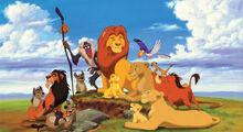 El Rey Leon personajes