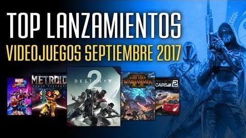 Los mejores videojuegos que se lanzan en Septiembre 2017 (España)