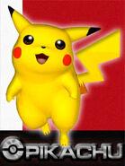 Pikachu SSBM