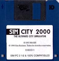 SimCity 2000 - Diskette DOS ESP