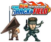 New International Track & Field Snake y Pyramid