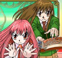 Mamodo Battles - Tia & Megumi
