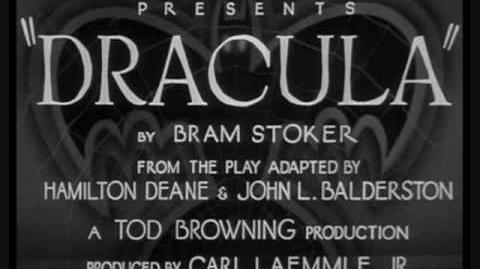 Dracula (1931) Theme