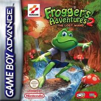 Frogger's Adventures 2 The Lost Wand portada