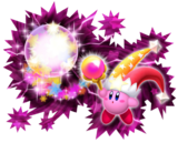 Kirby's Return to Dream Land - Rayo magico