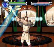 Lightsaber Battle Game Screen1