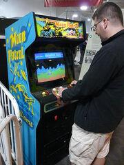 Videojugador de Arcade