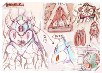 Kirby Planet Robobot - Concept Art Sueño Estelar