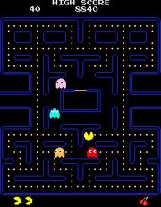 Pac-Man - Punto ciego
