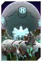 Kirby Planet Robobot - Concept Art Sistema Servidor3