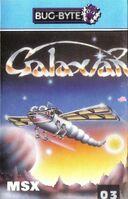 Galaxian MSX portada