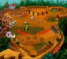 Timon & Pumbaa's Jungle Pinball SNES