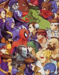 Marvel vs Capcom crossover