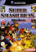 Super Smash Bros Melee - portada EUR