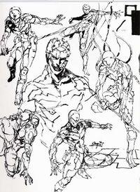 Cyborg Ninja Yoji Shinkawa