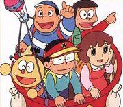 Kiteretsu personajes