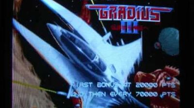 Gradius III (AC) OST Departure from Space-0