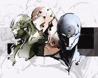 Cyborg Ninjas Metal Gear
