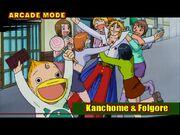 Kanchomé & Folgore 1 Mamodo Fury