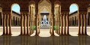 King of Fighters 98 - Escenario - Alhambra