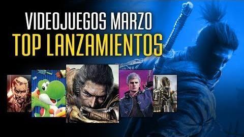 Videojuegos TOP para MARZO de 2019 en España - 3D JUEGOS