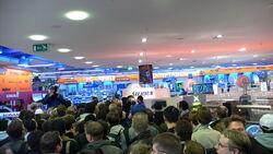 Wii launch in Hamburg