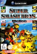 Super Smash Bros Melee - portada AUS