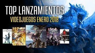 Los mejores videojuegos que se lanzan en enero 2018