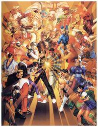 SNK vs Capcom crossover