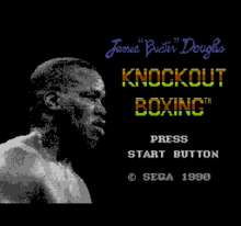 James Buster Douglas Knockout Boxing - título