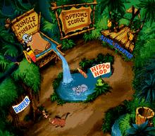 Timon & Pumbaa's Jungle Games minijuegos SNES