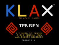 Klax Amiga captura1