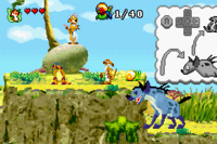 The Lion King GBA captura 1