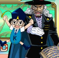 Mamodo Battles - Kido & Dr. Riddles