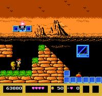 Kiteretsu Daihyakka NES captura 1