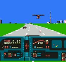 Knight Rider NES captura1