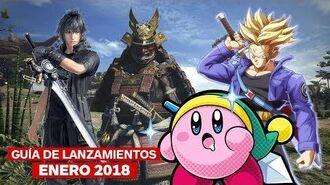 Guía de lanzamientos de enero 2018 – IGN Latinoamérica