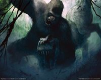 Peter Jackson King Kong art