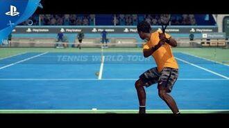 Tennis World Tour - PGW 2017 Announce Trailer - PS4